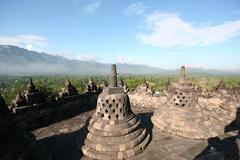 Indonesian temple Stock Photos