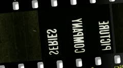 Film Countdown 2 with Sound Stock Footage