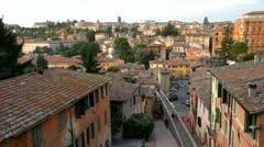 Perugia, Umbria, Italy Stock Footage