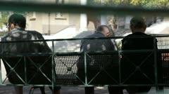 Athens city views - stock footage