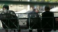 Athens city views Stock Footage