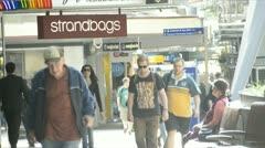Busy Brisbane Street Stock Footage