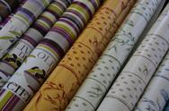 Provencal fabrics Stock Photos