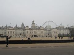 London eye in background Stock Photos