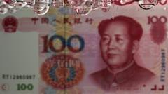 Leaking Yuan Stock Footage
