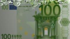 Leaking EURO Stock Footage