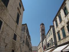 Old street in Dobrovnik - Turkey Stock Photos