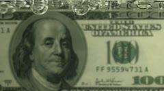 Leaking DOLLAR - stock footage
