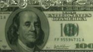 Leaking DOLLAR Stock Footage