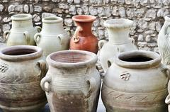 Vases and amphoras Stock Photos