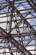 steel structure - stock photo