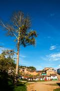 View of a Colombian Town Stock Photos