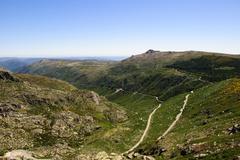 vale rossim valley - stock photo