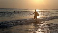 Water sport - stock footage