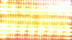 Flashing Red Light Close Up Stock Footage