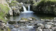 Multiple waterfalls - stock footage