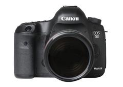 EOS Canon 5D Mark 3 III Camera Digital DSLR Technology Photography - stock photo