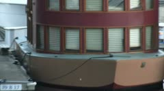 Odd Houseboat With Multiple Windows - stock footage