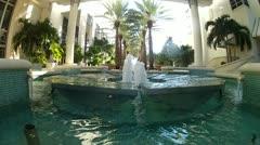 Fountain in Hotel Arium Stock Footage