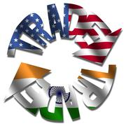 american indian trade - stock illustration