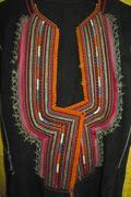 Stock Photo of handmade antique bulgarian national costume