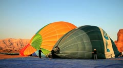Two ballons-2 Stock Footage