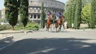 Stock Video Footage of Collosseum - famous tourist attraction of Rome
