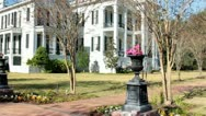 Stock Video Footage of Nottoway Plantation mansion 3/4 front