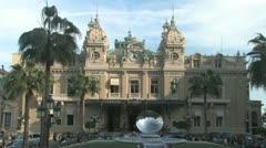 Monte Carlo Casino - stock footage