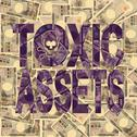 Stock Illustration of toxic assets text with yen