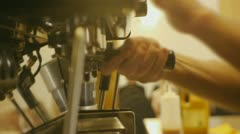 Stock Video Footage of Coffee Machine 3