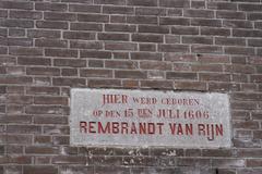 Birthplace rembrandt van rijn Stock Photos