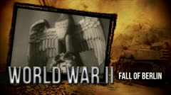 Fall of Berlin | Title Opener | World War 2 Stock Footage