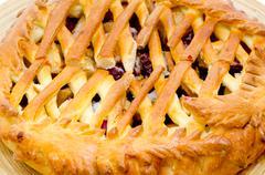 sweet pie - stock photo
