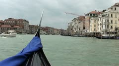 Venice Grand Canal Stock Footage