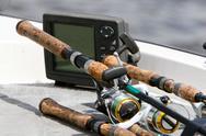 Fishing rods Stock Photos