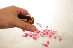 Addiction and overdose Stock Photos