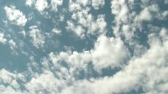 High Clouds Time-lapse - stock footage