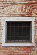 Stock Photo of brick window