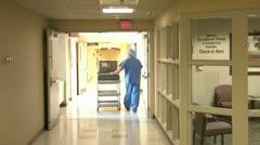 Hospital Staff Stock Footage