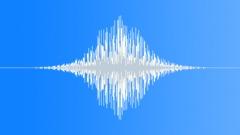 Bass whoosh - sound effect