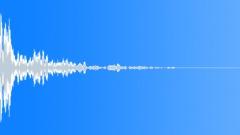 Debris Impact 02 - Mixed Debris Dusty And Noisy Sound Effect