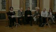 Gay Marriage Paris, City Hall, Christine Boutin, Public Debate 1 Stock Footage