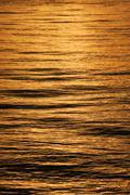 sea reflections - stock photo