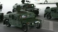 Humvee Stock Footage