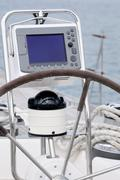 navigation - stock photo