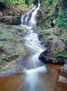 Ton sai waterfall, phuket, thailand Stock Photos
