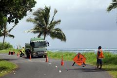 roadwork - stock photo