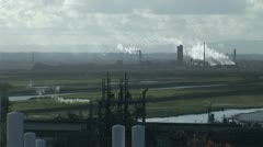 Industrial landscape Stock Footage