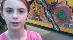 Kid at Fair Stock Footage